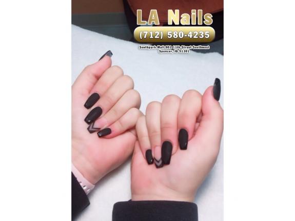 LA Nails | Nail salon 51301 | Near me Spencer IA